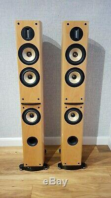Unique Hi End Pioneer S-H810V Floor Stand Stereo Home Cinema theater speakers