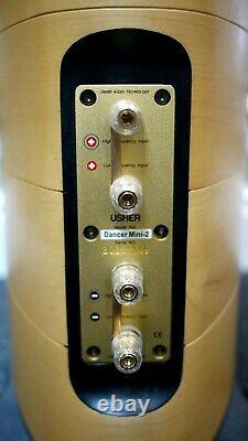 Usher Dancer Mini-2 Diamond Floorstanding Speakers in Maple Preowned