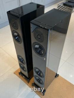 Vienna acoustics Beethoven Baby Grand Piano Black Floorstanding Speakers