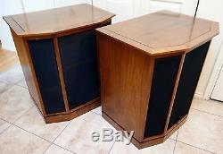 Vintage 1971 Altec Lansing 875A Granada Floor Standing Tower Home Speakers