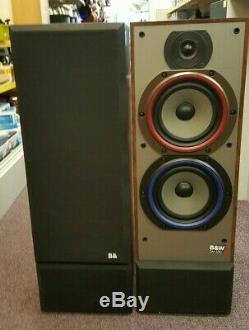 Vintage Bowers And Wilkins B&W Floor Standing Speakers DM 330i Audiophile