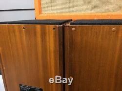 Vintage Linn Isobarik DMS Floorstanding Hifi System Loud Speakers Matched Pair