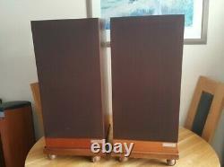 Vintage Mission 720 3-Way Infinite Baffle HiFi Speakers 100 W