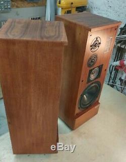 Vintage Mission 730 Floorstanding Speakers. Mission's first flagship model