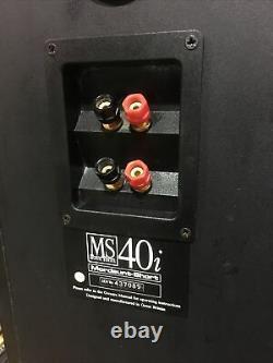 Vintage Mordaunt-Short MS40i Music Series Floor Standing Stereo Speakers MS 40i
