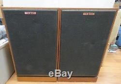 Vintage Pair of Klipsch KG4 Floorstanding Wood Cabinet Speakers 3047K