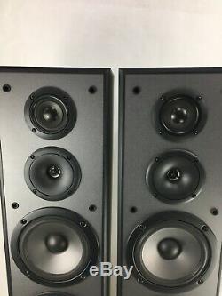 Vintage Pioneer S-H-452F-K 3-Way Floor Standing Speaker Loudspeaker