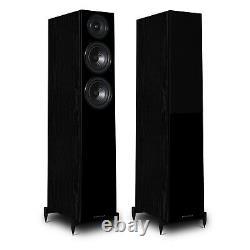 Wharfedale Diamond 12.3 Speakers Black Pair Floorstanding Loudspeakers