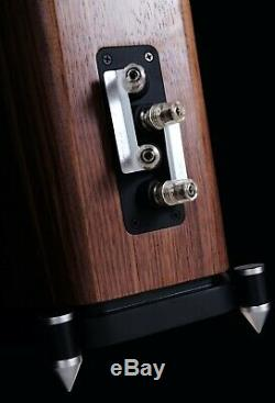Wharfedale Evo 4.3 Speakers Walnut Floorstanding Loudspeaker 3 Way