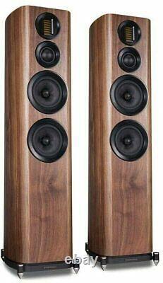 Wharfedale Evo 4.4 Pair of Walnut Floor Speakers