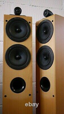 Wharfedale Pacific Pi-40 Floorstanding Speakers in Beech Preowned