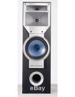 Wharfedale ZDK-S1000-BLK Zaldek 3-Way Floor Standing Speaker (Pair) NEW