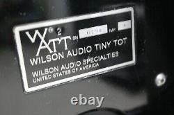 Wilson Audio Watt Puppy Tiny Tot Floor standing stereo speakers