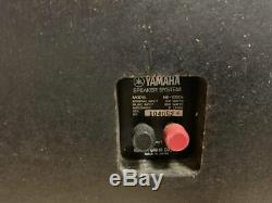 Yamaha NS-1000x Studio Monitors Floor Standing Speaker Tested Vintage