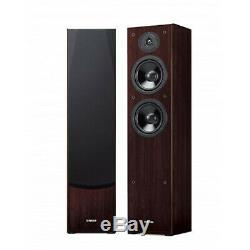Yamaha NS-F51 Floorstanding Speakers Walnut