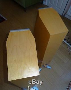 Yamaha Soavo 3 Floor Standing Speakers In Birch Wood